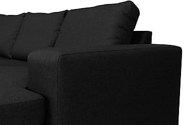 Houston U-sofa Large med Chaiselong Højre