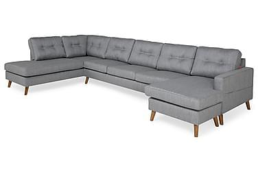 Monroe U-sofa Large med Chaiselong Højre