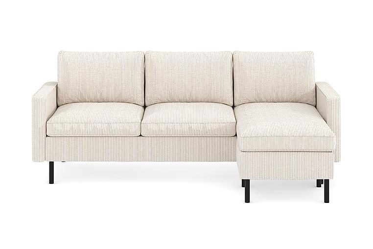 Peppe 3-personers Sofa med Chaiselong Vendbar - Møbler - Sofaer - Chaiselongsofa & U-Sofa