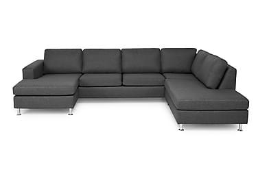 Scandic U-sofa med Chaiselong Venstre