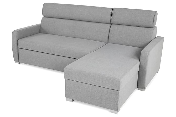 Sebastian sovesofa med chaiselong vendbar gr for U sofa med chaiselong