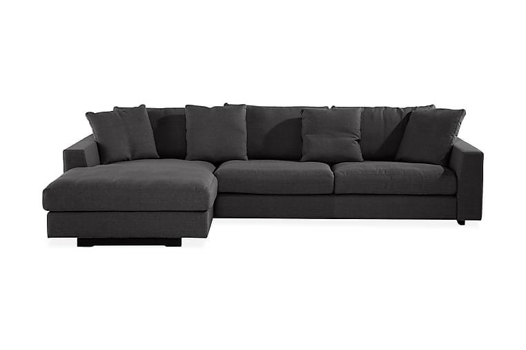 Sibela 2,5-Pers. Sofa med Chaiselong Venstre - Grå - Møbler - Sofaer - Chaiselongsofa & U-Sofa
