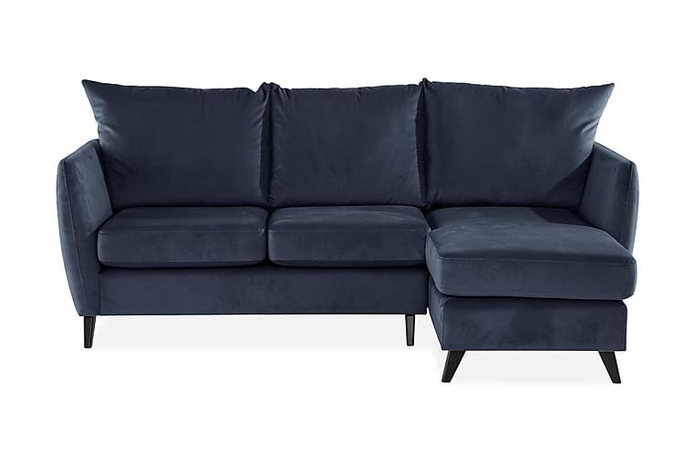 Torsvik 2-Pers. Sofa med Chaiselong Højre - Blå/Grå - Møbler - Sofaer - Chaiselongsofa & U-Sofa