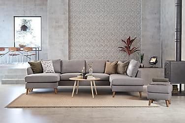 Trend U-sofa med Chaiselong Venstre