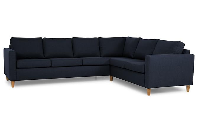 Zero Hjørnesofa - Blå - Møbler - Sofaer - Hjørnesofaer