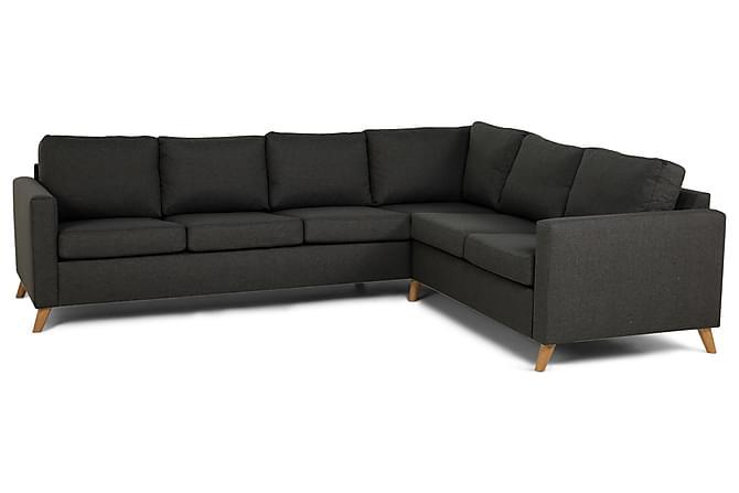 Zero Hjørnesofa - Mørkegrå - Møbler - Sofaer - Hjørnesofaer