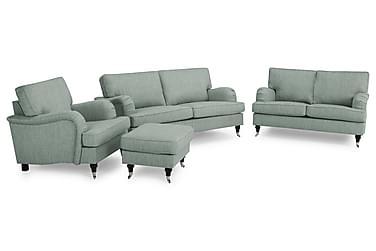 Howard Classic Sofagruppe 3-pers+2-pers+Lænestol+Puf