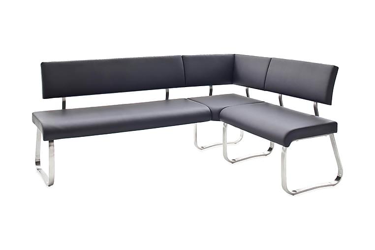 Arco Køkkensofa Læder - Sort - Møbler - Sofaer - Køkkensofaer