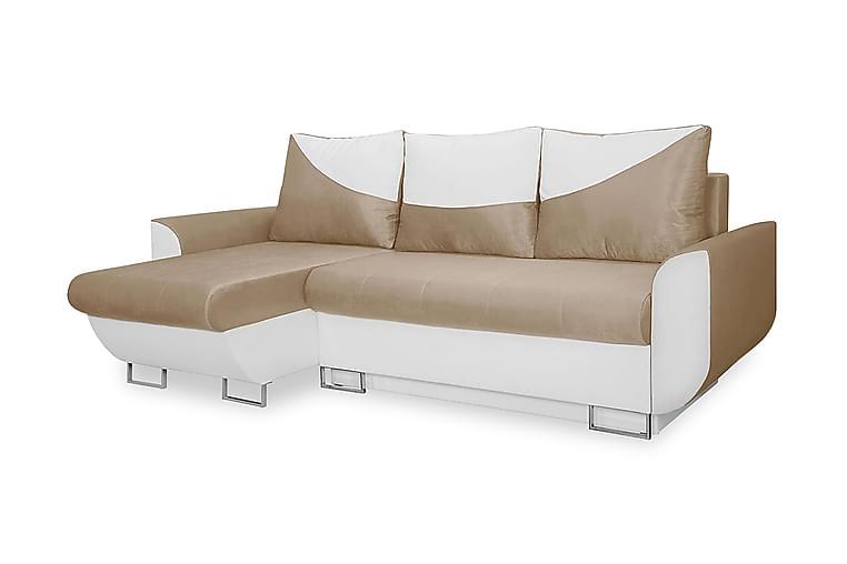 Alejandra sovesofa med diva - Møbler - Sofaer - Lædersofaer
