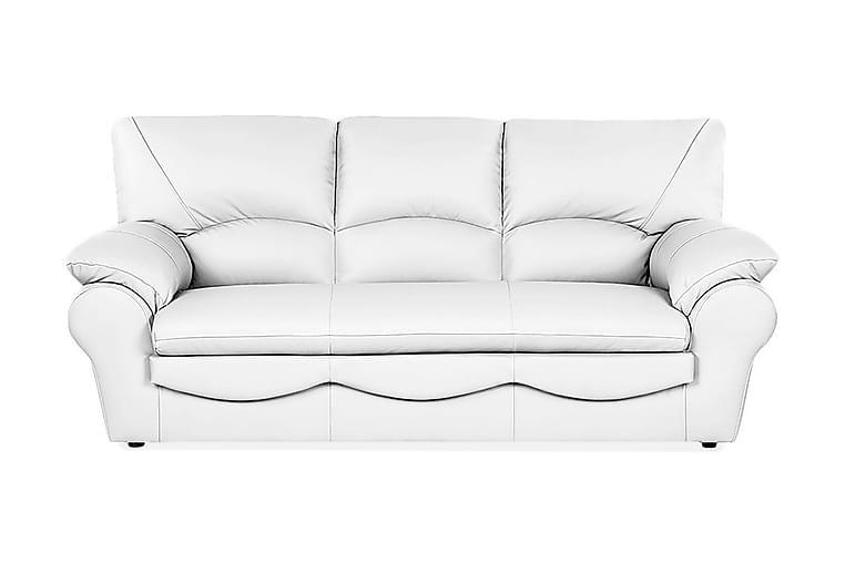 Muduex 3-pers Sofa - Hvid - Møbler - Sofaer - Lædersofaer