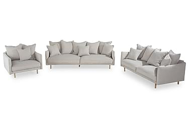 Haide sofagruppe 2,5 pers+ 3 pers.+lænestol