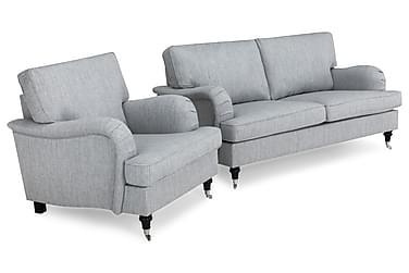 Howard Classic Sofagruppe 3-pers+Lænestol