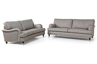 Howard Classic Sofagruppe 3-pers Rak + 2-pers Buet