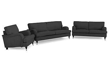 Howard Classic Sofagruppe 3,5-pers+3-pers+Lænestol