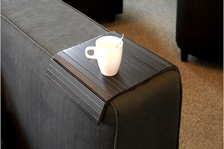 Row Armlænsbakke - Sort - Møbler - Sofaer - Sofatilbehør