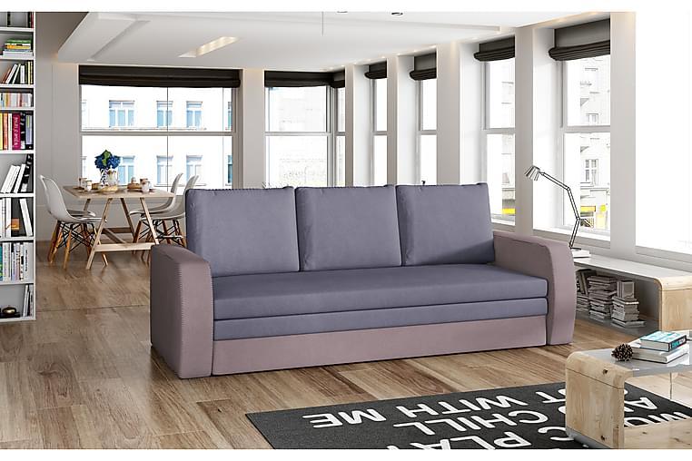 Lerma sovesofa - Blå / lilla - Møbler - Sofaer - Sovesofaer