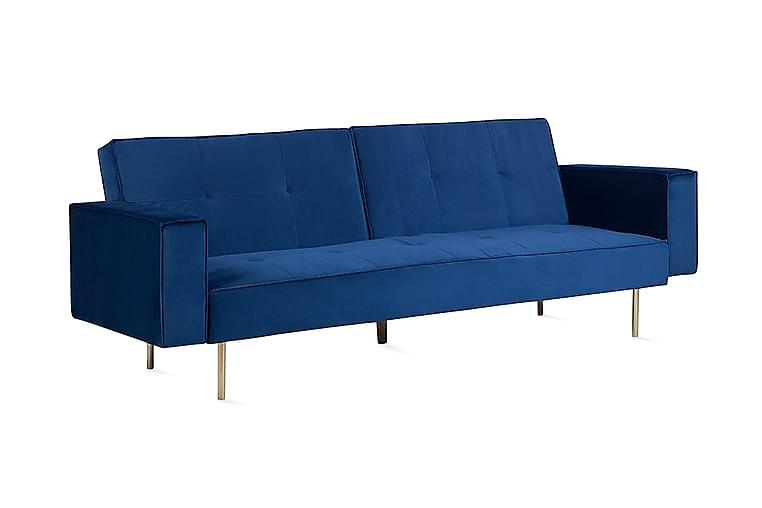 Visnes sovesofa 218 cm - Blå - Møbler - Sofaer - Sovesofaer
