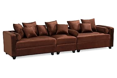 Livly Veloursofa 4-pers