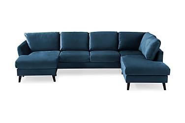 Trend U-sofa med Chaiselong Venstre Velour