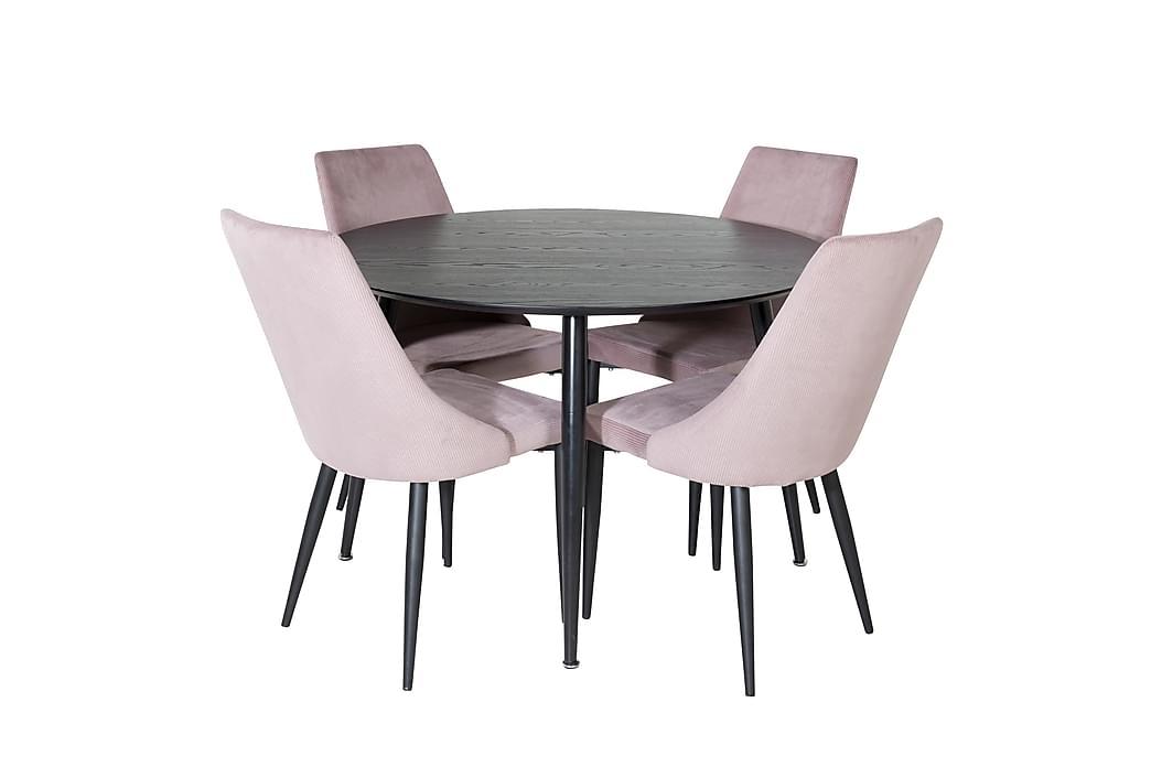 Balisa Spisebord med 4 Ludde Spisebordsstol - Møbler - Spisebordssæt - Rektangulært spisebordssæt