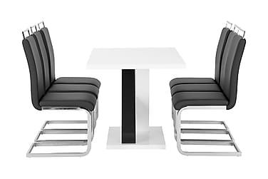 Cesi Spisebordssæt 140 cm + 6 Isoda Stol