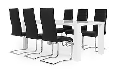 Cibus Spisebordsæt med 6 Stole