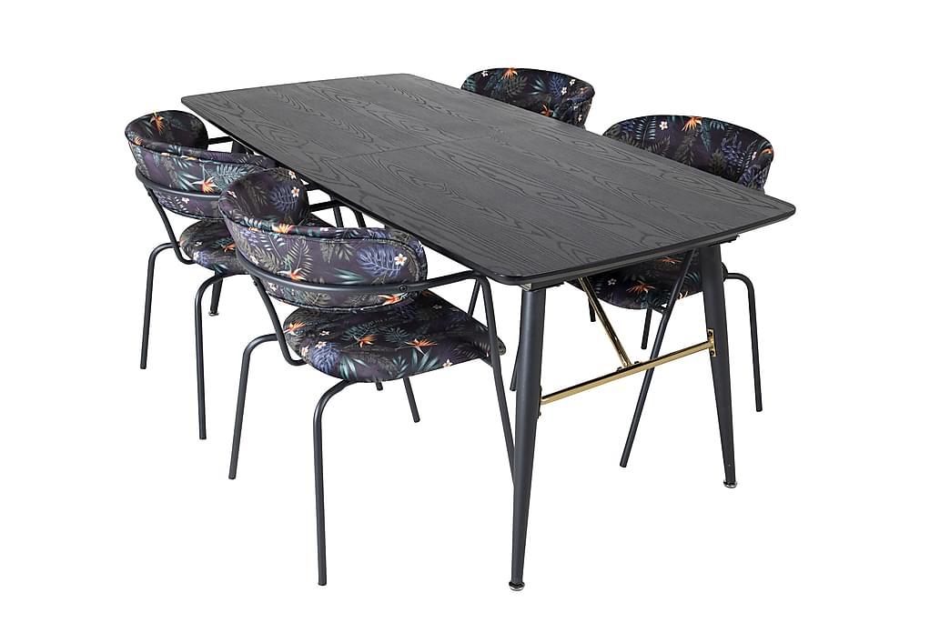 Irunea Spisebord 180 cm med 4 Arcarazo Lænestol - Møbler - Spisebordssæt - Rektangulært spisebordssæt
