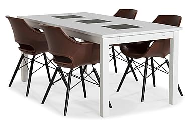 Jasmin Spisebordssæt 180 cm med 6 Kairo Stole