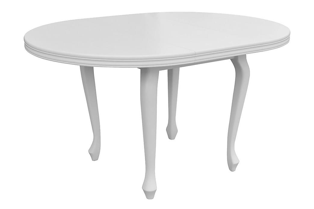 Kit Spisebordssæt 100 cm inkl. 4 stole - Træ / natur | Sort - Møbler - Spisebordssæt - Rektangulært spisebordssæt