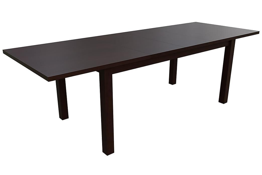 Kolima Spisebordssæt 170 cm inkl. 6 stole - Træ / natur | Grå - Møbler - Spisebordssæt - Rektangulært spisebordssæt