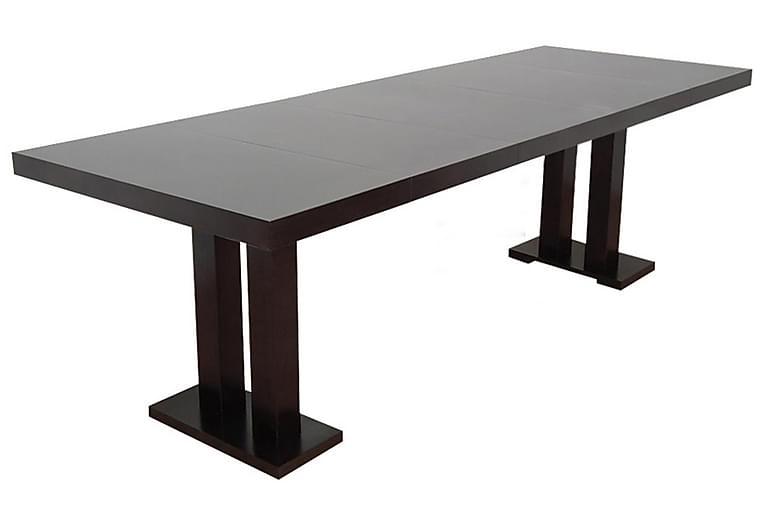 Limu Spisebordssæt - Valnød - Møbler - Spisebordssæt - Rektangulært spisebordssæt