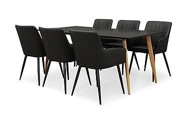 Pontus Spisebordssæt 180 med 6 Casper Stole