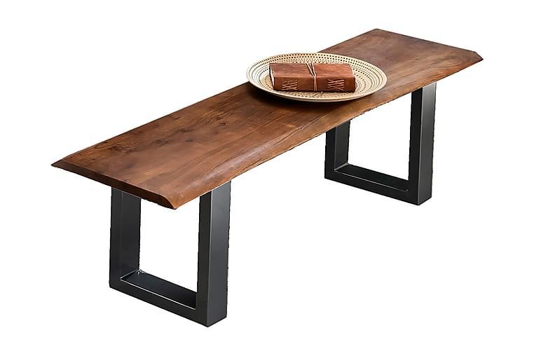 Rotelle Bænk - Rød/Sort - Boligtilbehør - Små møbler - Bænk