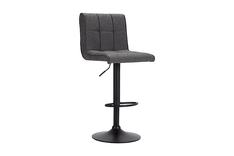 Barstol stof mørkegrå - Grå - Møbler - Stole - Barstole