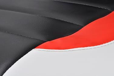 Kontorstol Kunstigt Læder Moderne Design Hvid