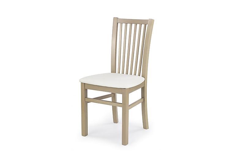 Abrego Spisebordstol - Hvid/Eg - Møbler - Stole - Spisebordsstole & køkkenstole
