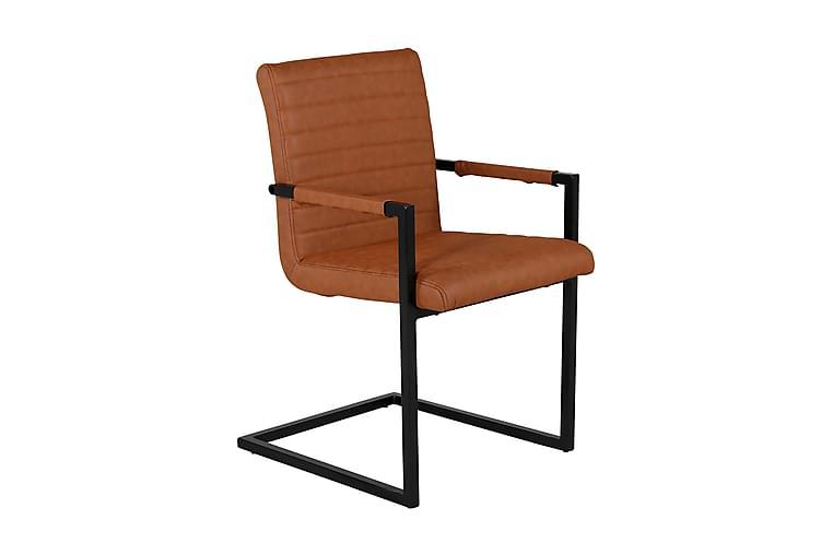 Alan Køkkenstol - Brun/Sort - Møbler - Stole - Spisebordsstole & køkkenstole