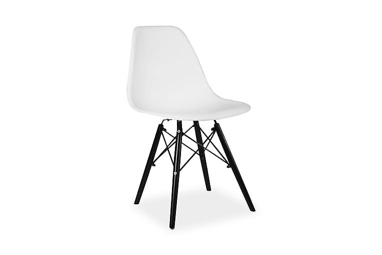 Andalen Stol - Hvid   Sort - Møbler - Stole - Spisebordsstole & køkkenstole