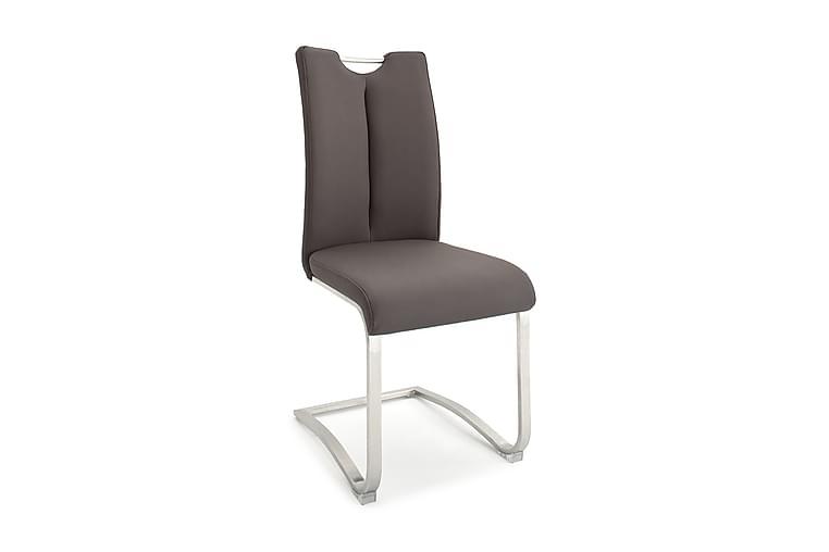 Artos Køkkenstol Kunstlæder - Grå - Møbler - Stole - Spisebordsstole & køkkenstole