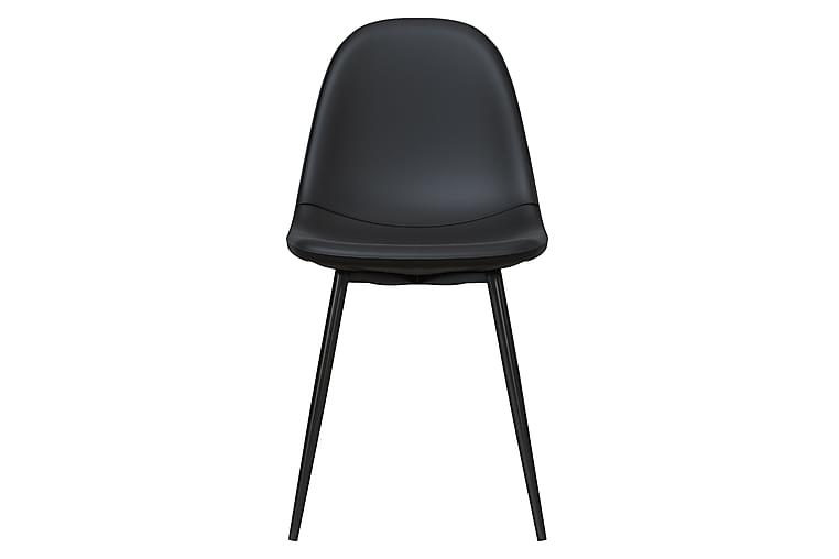 Calvin Spisebordsstol Sort 2-pak - Dorel Home - Møbler - Stole - Spisebordsstole & køkkenstole