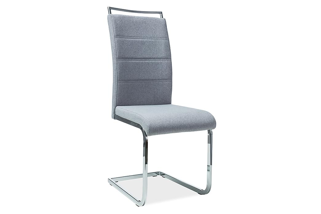 Cintrey Spisebordsstol 4 stk - Grå/Sølv - Møbler - Stole - Spisebordsstole & køkkenstole