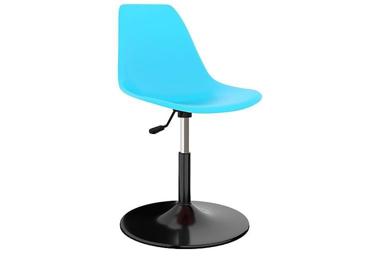 Drejelige spisebordsstole 6 stk. pp blå - Blå - Møbler - Stole - Spisebordsstole & køkkenstole