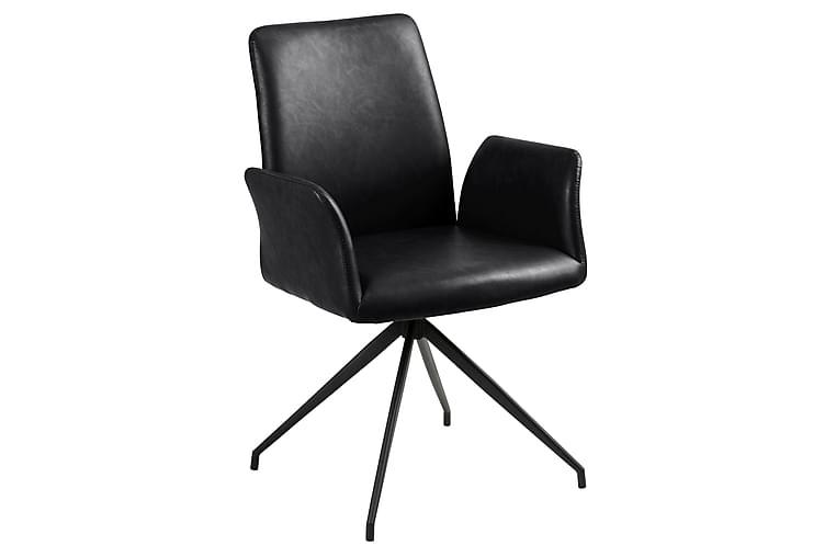 Edwuna Spisebordsstol - Sort - Møbler - Stole - Spisebordsstole & køkkenstole