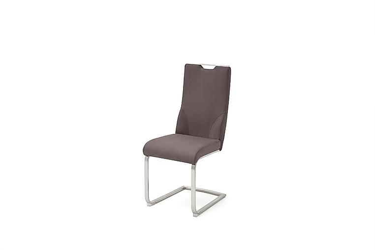 Giulia Køkkenstol Glat Kunstlæder - Brun - Møbler - Stole - Spisebordsstole & køkkenstole