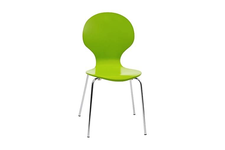 Ikeda Stol - Lime/Krom - Møbler - Stole - Spisebordsstole & køkkenstole