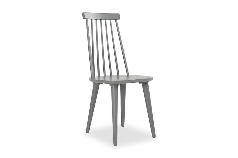 Livia Pindestol - Grå - Møbler - Stole - Spisebordsstole & køkkenstole