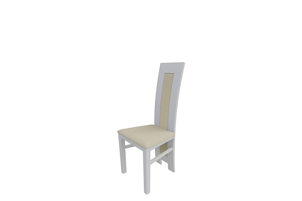 Majesta Spisestol 46x46x105 cm - Hvid - Møbler - Stole - Spisebordsstole & køkkenstole