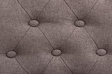 Spisebordsstole 4 Stk. Stof Gråbrun