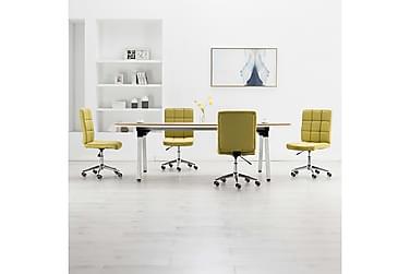Spisebordsstole 4 Stk. Stof Grøn