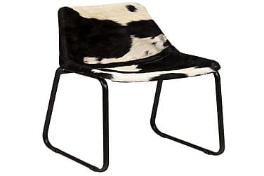 Spisebordsstole 6 Stk. Ægte Gedelæder